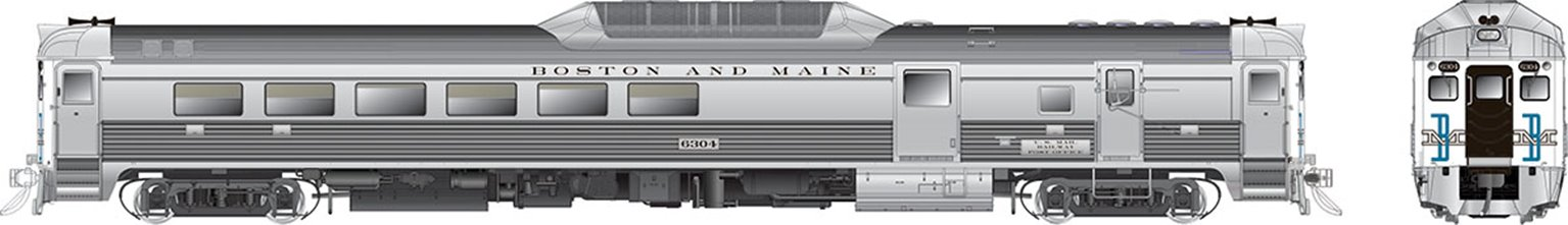 RDC-2 (Phase II) Boston & Maine (McGinnis) #6305 - DCC Sound