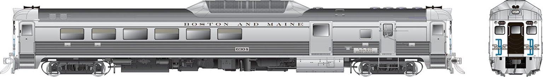 RDC-3 (Phase II) Boston & Maine (McGinnis) #6304 - DCC Silent