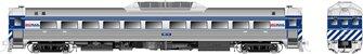 RDC-1 (Phase II) BC Rail (Blue) #BC-10 - DCC Silent