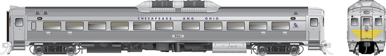 RDC-1 (Phase Ib) Chesapeake & Ohio #9061 - DCC Silent