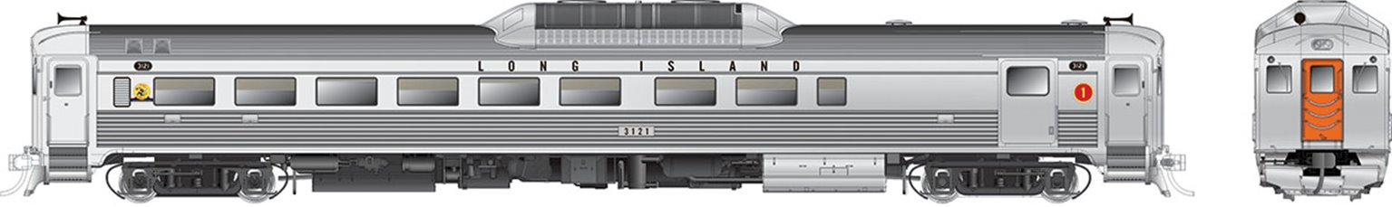 RDC-2 (Phase Ic) Long Island RR #3121 - DCC Silent