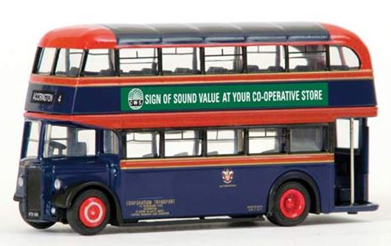 Leyland PD2 Highbridge Accrington Corporation Route 4 Bus