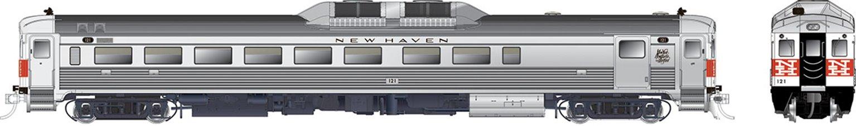 RDC-2 (Phase Ib) New Haven (McGinnis) #121 - DCC Silent