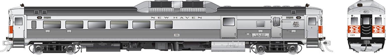 RDC-3 (Phase Ib) New Haven (McGinnis) #125 - DCC Sound