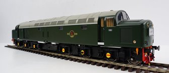 Class 40 BR Green 'As Delivered' Unnumbered Diesel Locomotive