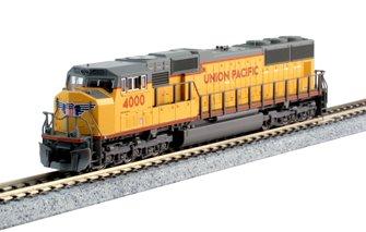 Union Pacific EMD SD70M (Flat Radiator) Locomotive No.4000