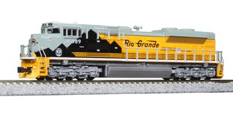 EMD SD70ACe Union Pacific 1989 D&RGW Heritage