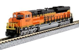 BNSF Swoosh EMD SD70ACe Locomotive No.8527