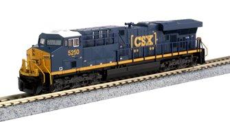"""CSX """"Boxcar"""" Livery GE ES44AC Locomotive No.5250"""