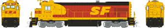 HO scale B36-7 : ATSF - Kodachrome: #7497 DCC Sound