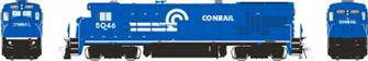 HO scale B36-7: Conrail - White Sill Stripe: #5024 DCC Sound