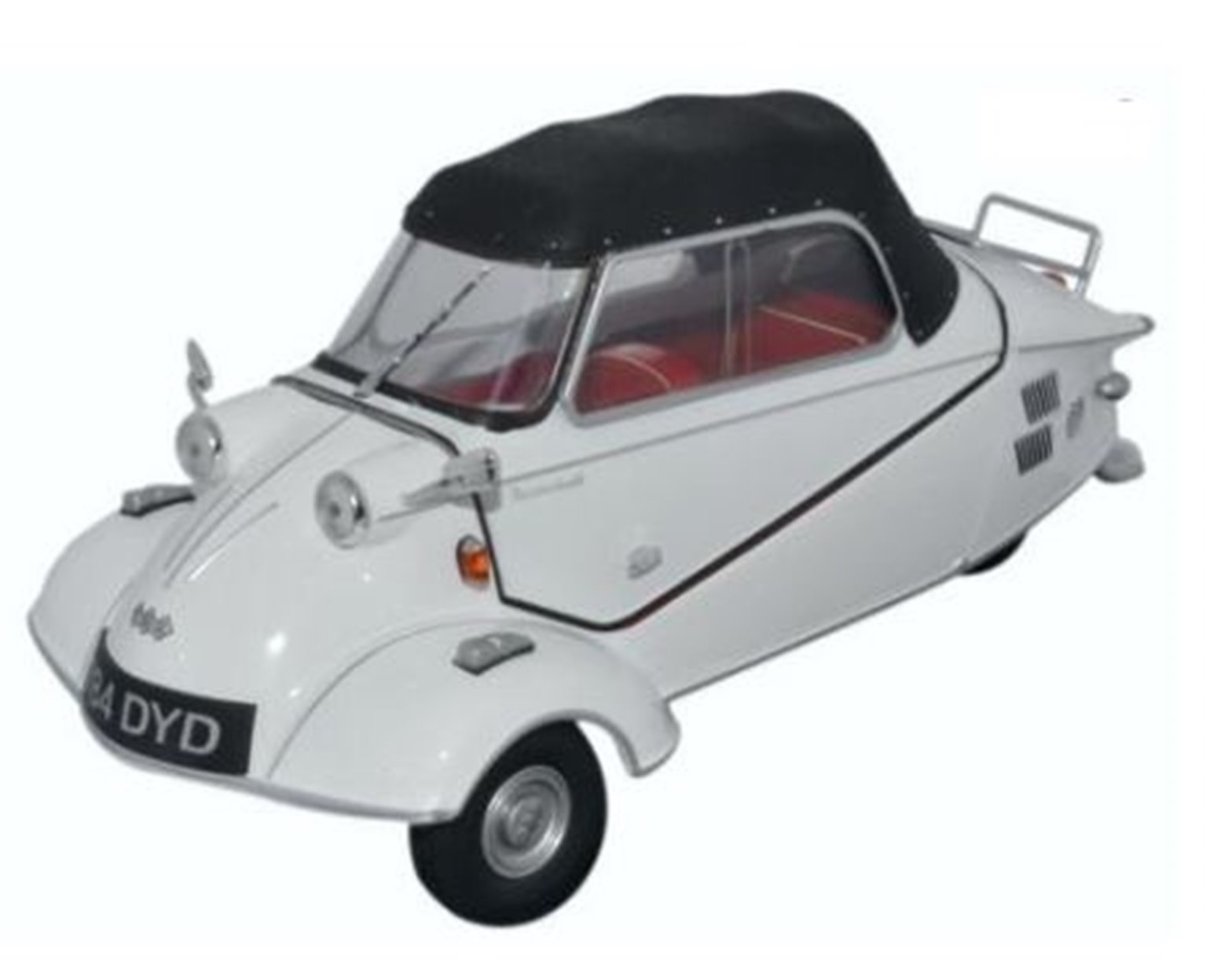 Oxford Diecast 18MBC005 Messerschmitt KR200 Polar White