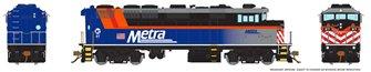 HO Scale F59PH - Metra #97