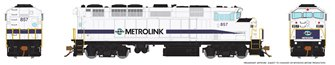HO Scale F59PH - Metrolink (stripe scheme) #859