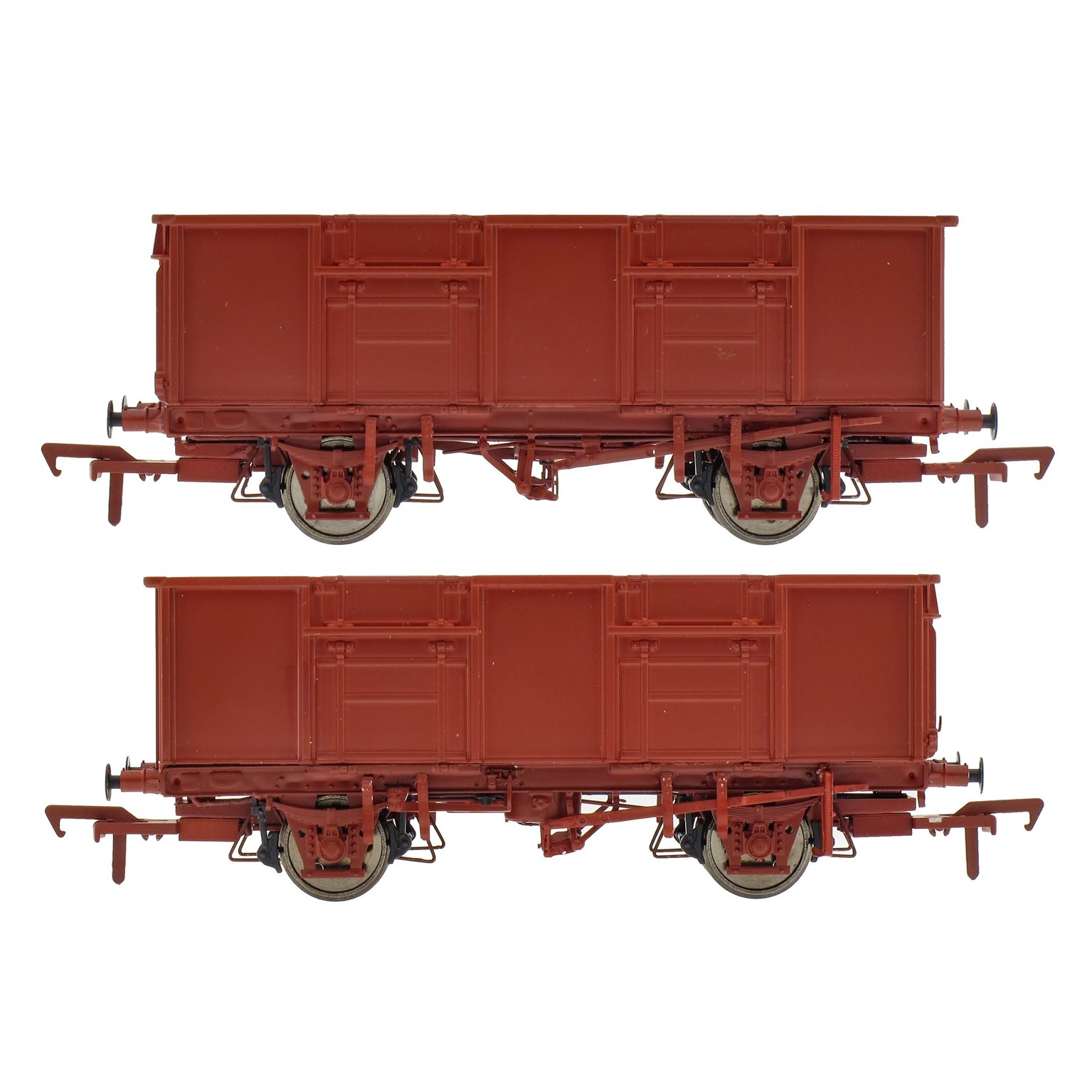 BR 21T MDV / PMV Triple Wagon Pack in MC Metals Livery