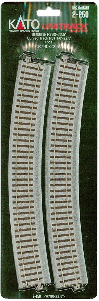 Kato 2-250  Curved Track Radius 790mm 22.5 Deg.(4)