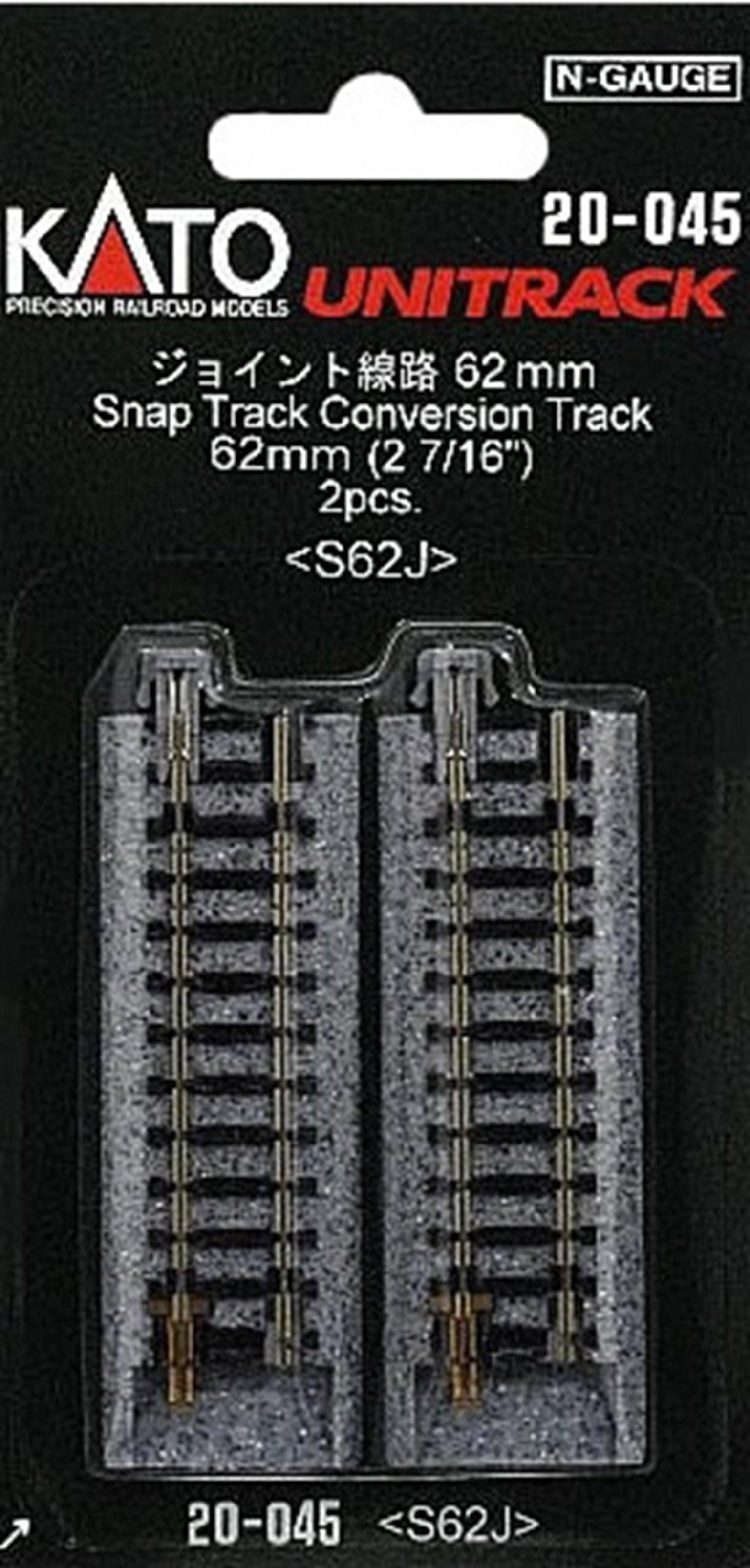 Kato 20-045 Ground Level Single Conversion Track (2)