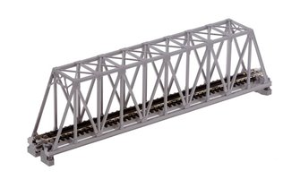 Kato 20-432 Single Track Truss Girder Bridge 248mm Grey