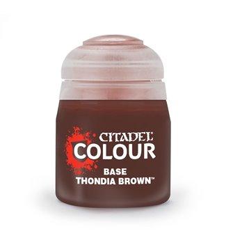 Citadel Base Thondia Brown Paint Pot