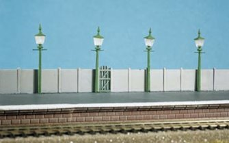 Station or Street Lamps (Pack of 4)