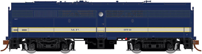 Alco FB-2 Missouri Pacific (Delivery) Ph II, no-DB #377-B