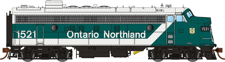 GMD FP7 Locomotive - Ontario Northland (Progressive) #1517 - DCC Silent