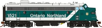 GMD FP7 Locomotive - Ontario Northland (Progressive) #1517 - DCC Sound