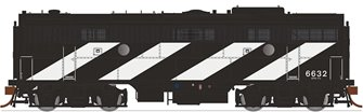 GMD F9B Locomotive -Canadian National (Noodle) #6628 (1961) - DCC Silent