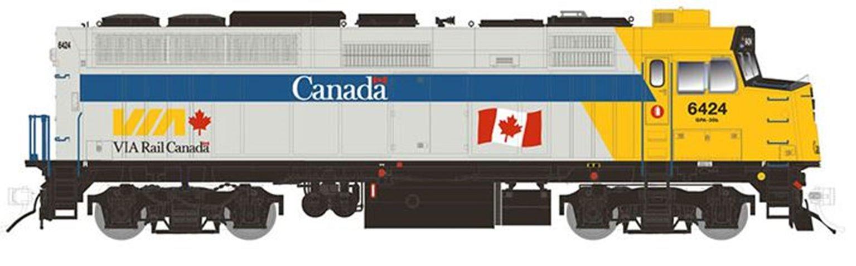 F40PH-2D – VIA Rail Canada Scheme #6456