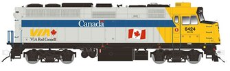 F40PH-2D – VIA Rail Canada Scheme #6456