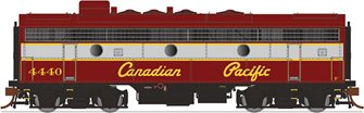GMD F7B Locomotive - Canadian Pacific (Script Lettering) #4433 - DCC Sound