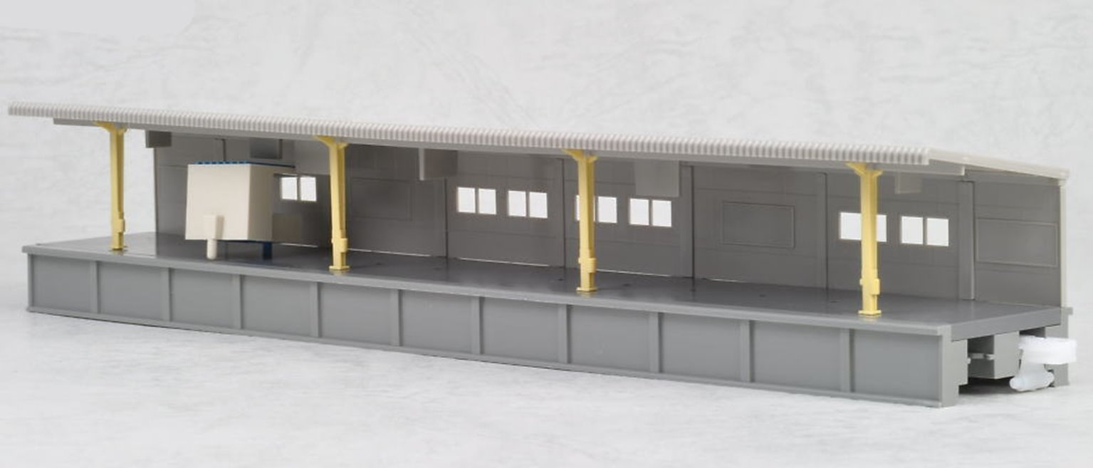 Kato 23-110 One Sided Platform with Small Kiosk Type A