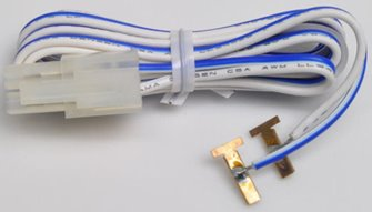 KATO 24-805 Terminal Cable Blue/White 90cm