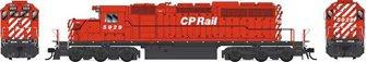 GMD SD40-2 CP Rail (no Multimark) Diesel Locomotive #5929 with DCC Sound