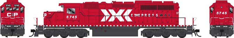 GMD SD40-2 CP Expressway Diesel Locomotive #5745 with DCC Sound
