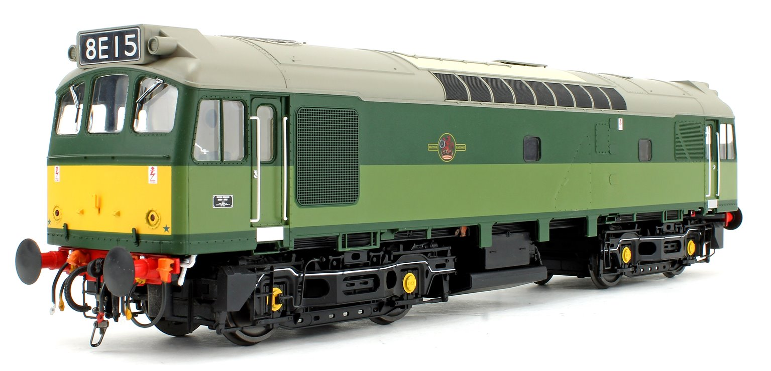 Class 25/3 BR Two Tone Green (Small Yellow Panels) Diesel Locomotive