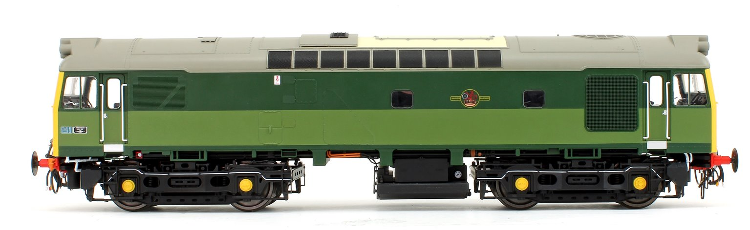 Class 25/3 BR Two Tone Green (Full Yellow Ends) Diesel Locomotive