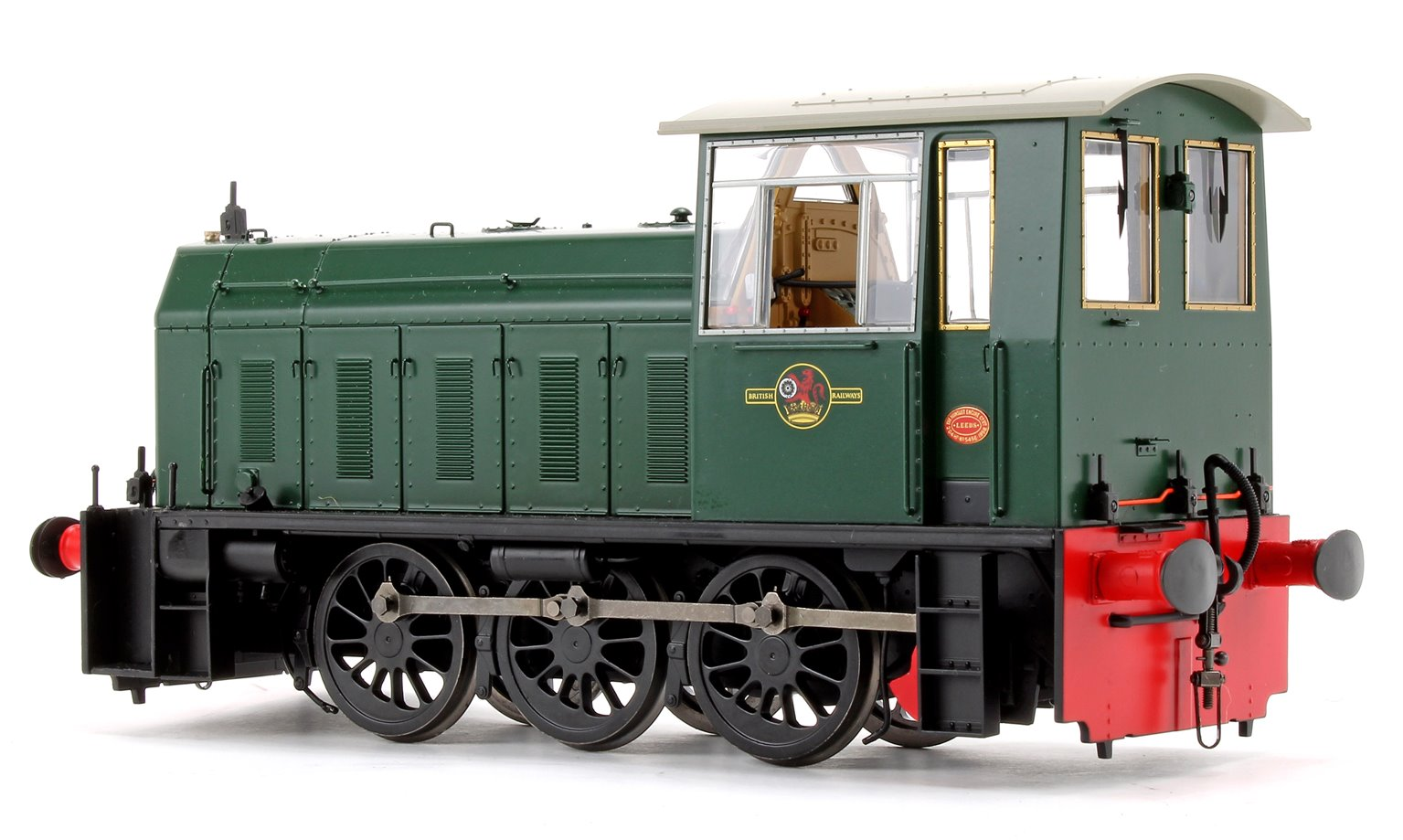 Hunslet Class 05 BR Green (no wasp stripes) Shunter Locomotive