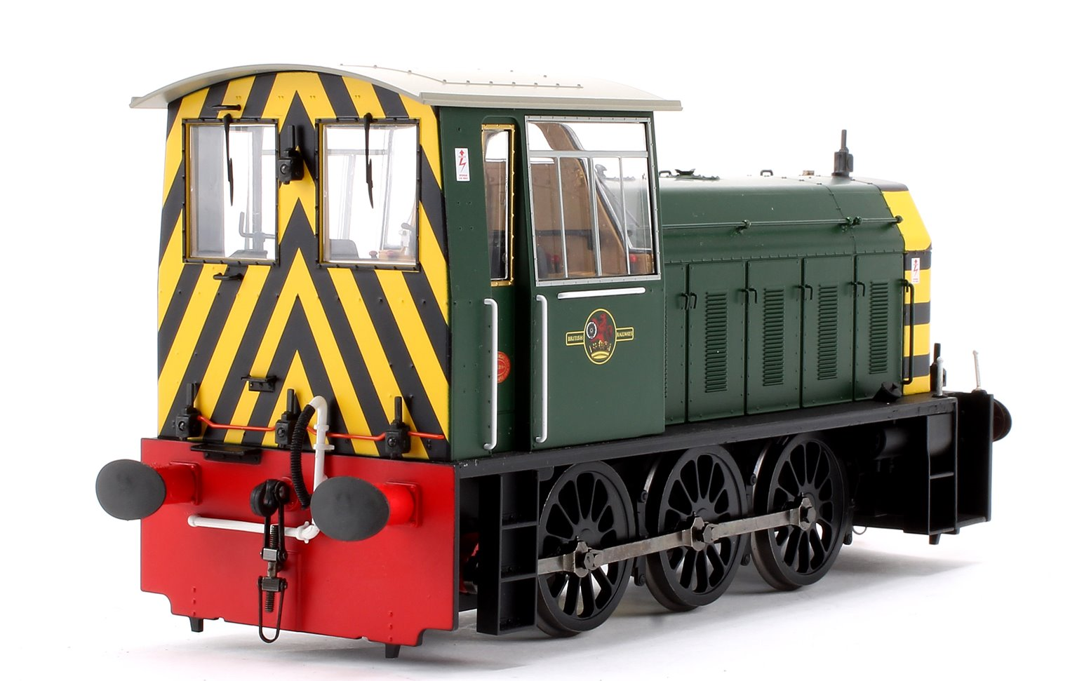Hunslet Class 05 BR Green with Wasp Stripes (Late) Shunter Locomotive