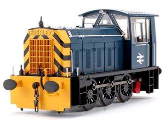Hunslet Class 05 BR Blue (Late) Wasp Stripes Shunter Locomotive
