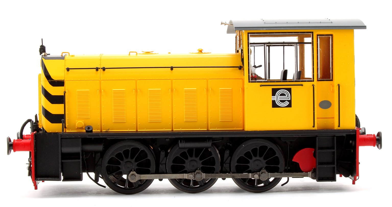 Hunslet Class 05 CEGB No.2 Yellow w/Wasp Stripes Shunter Locomotive