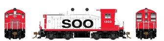 HO Scale SW1200 - Soo Line #1203 -