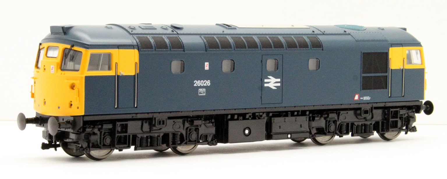 Class 26 026 BR Blue with full yellow ends