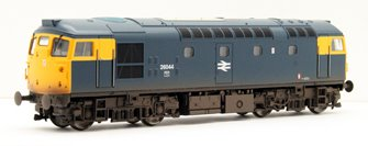 Class 26 044 BR Blue with full yellow ends (Weathered)
