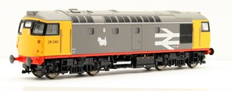 Class 26 040 Railfreight Grey Locomotive