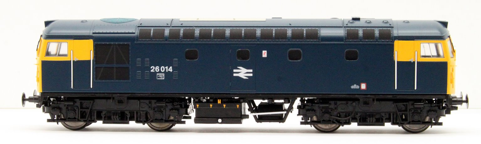 Class 26 014 BR Blue with full yellow ends