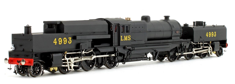 Beyer Garratt 2-6-0 0-6-2 4993 in LMS black with original coal bunker
