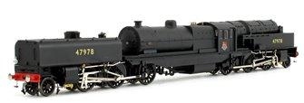 Beyer Garratt 2-6-0 0-6-2 47978 in BR black with early emblem and revolving coal bunker design