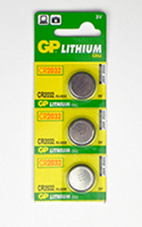 Batteries CR2032 (3) For AL/CL/SFX Items