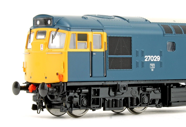 Class 27 029 BR Blue (Highland Rail Emblem) Diesel Locomotive